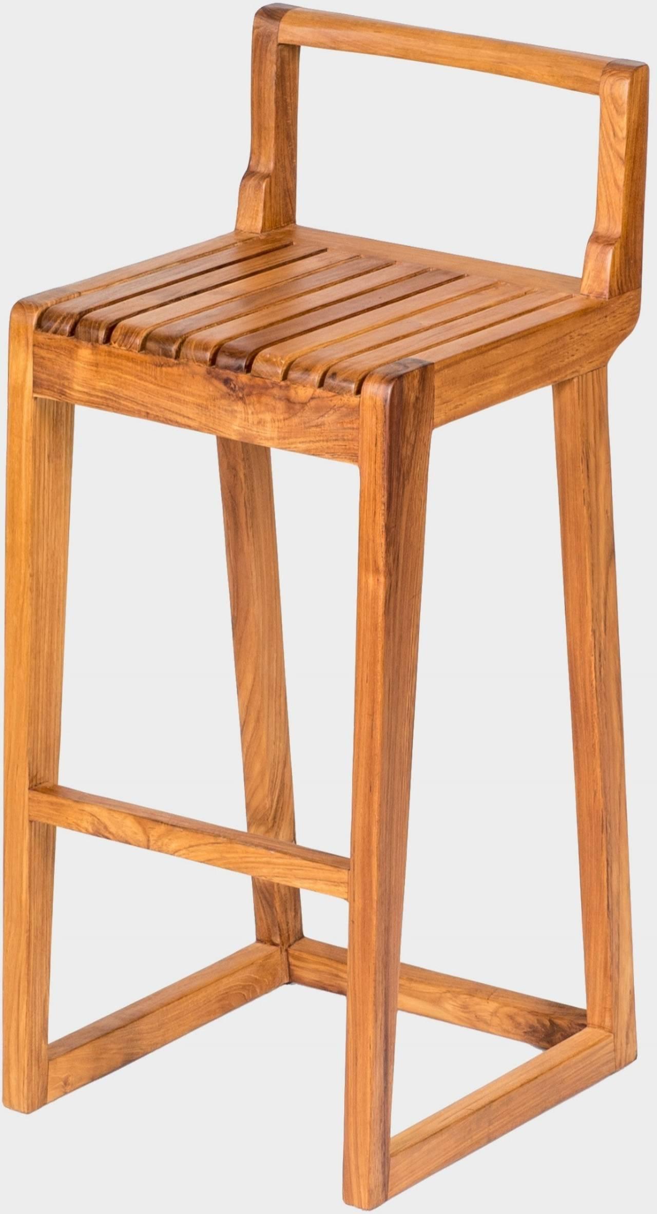 Zahradní barová židle LUCA