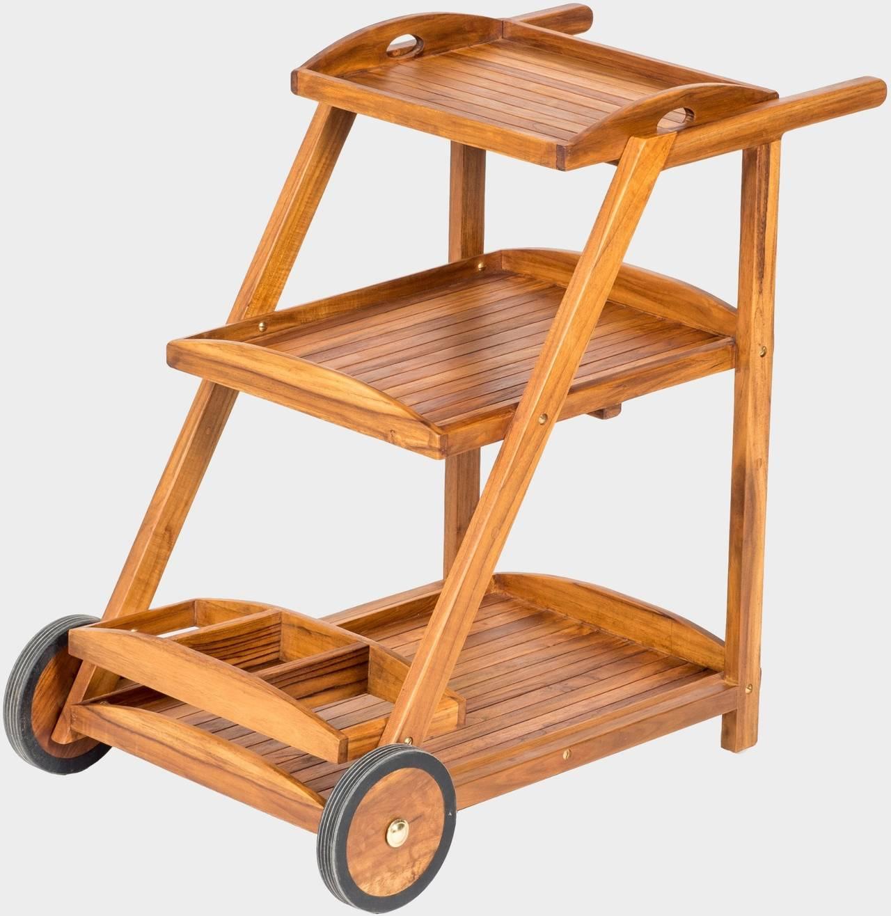 Servírovací stolek na kolečkách TEA