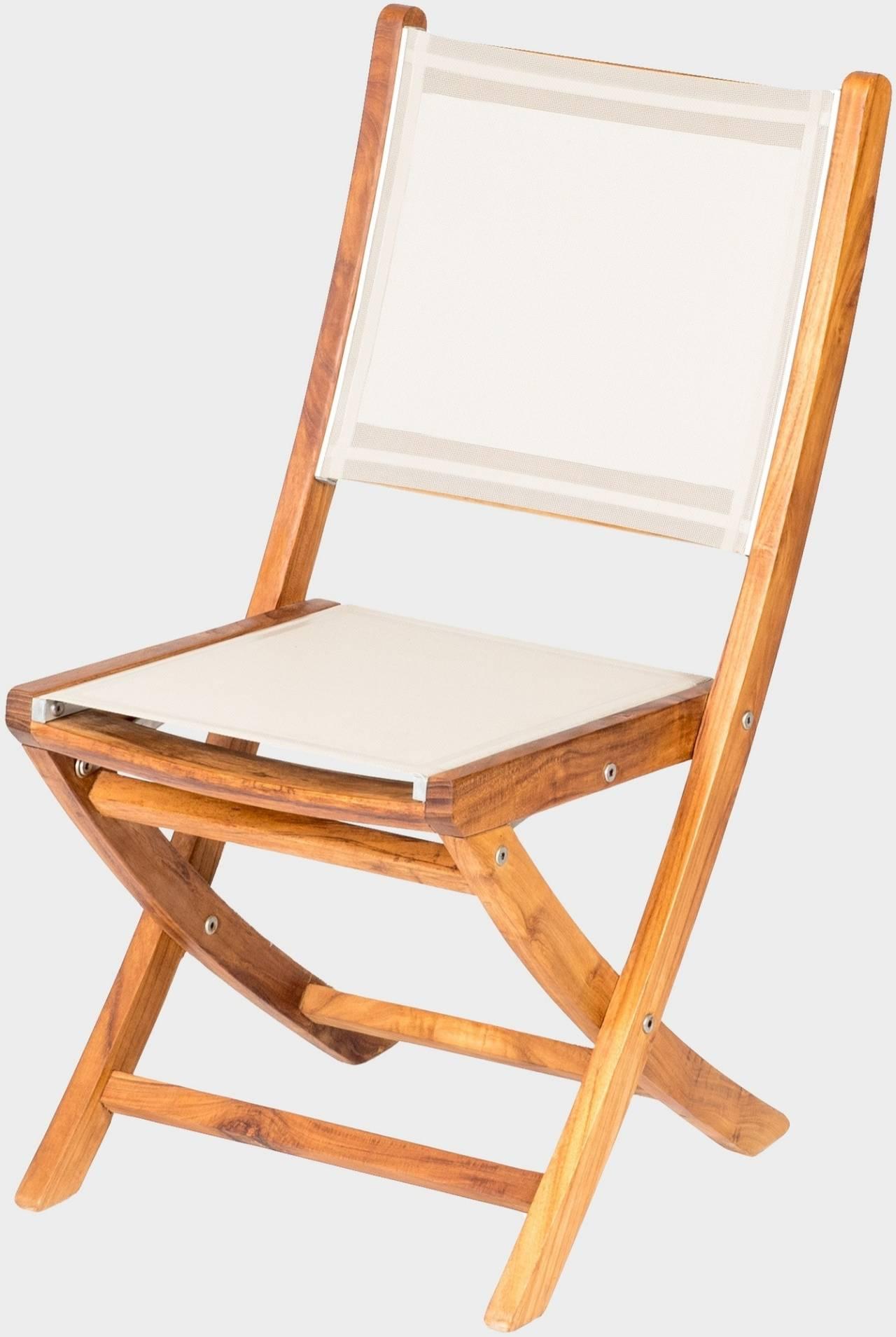 Zahradní teaková židle ANNA