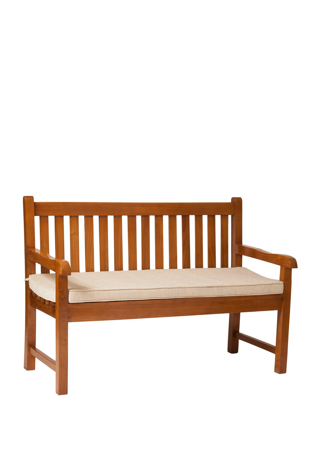 Zahradní lavice Slated