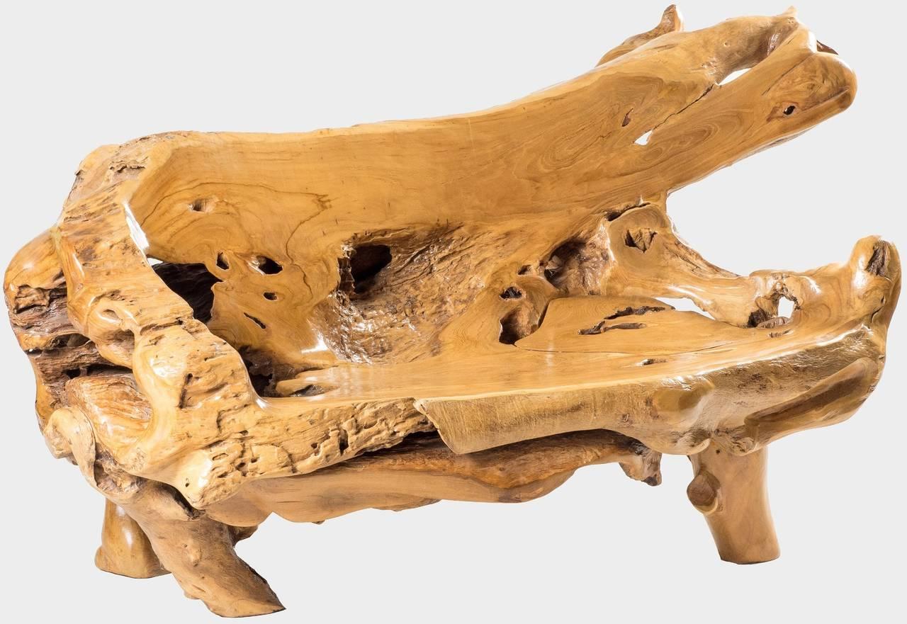 Lavice z kořene ROOT