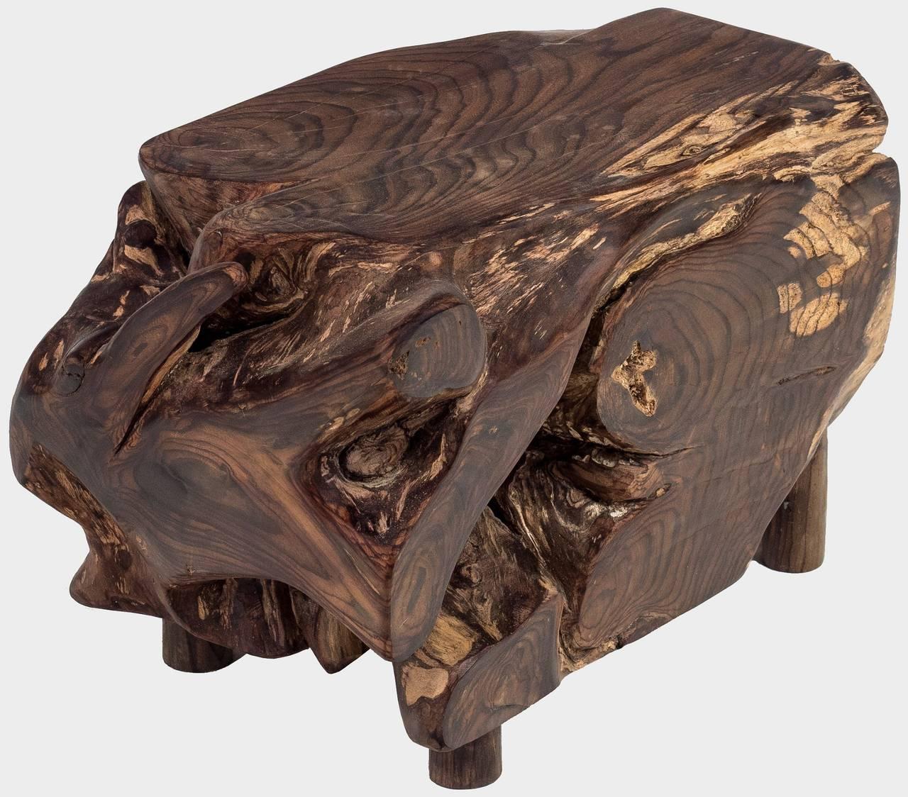 Konferenční stolek z rosewoodu z kořene ROSE