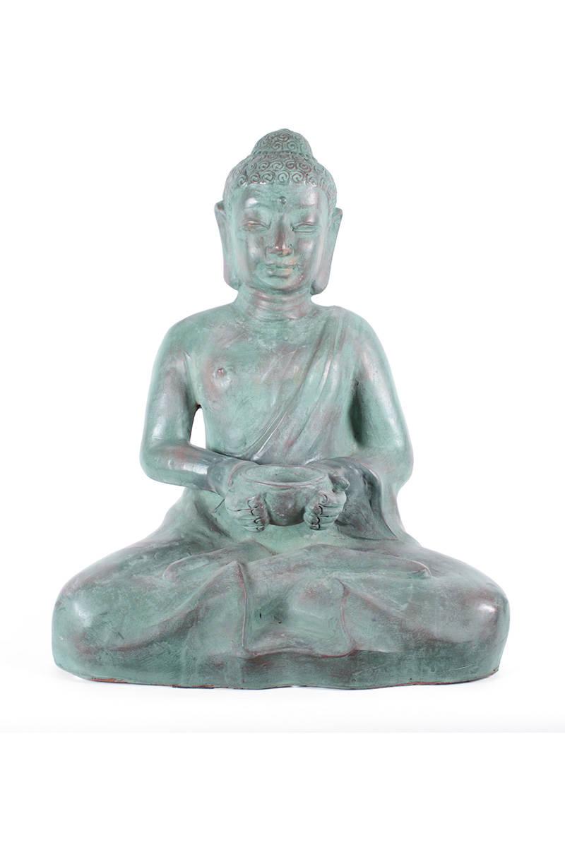 keramický-buddha-velký-zelený