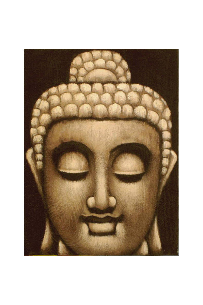 obličej-buddhy-s-nádechem-fialové-barvy