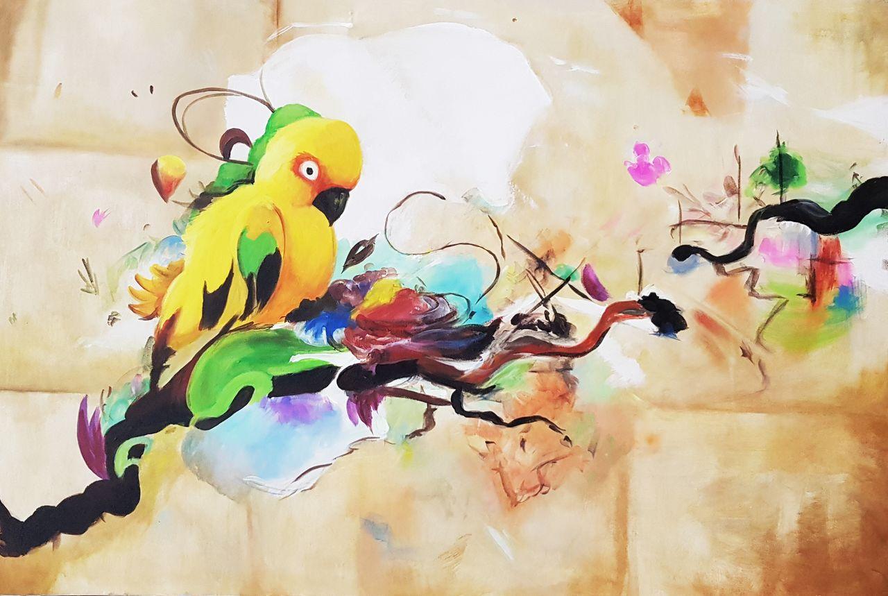 Papagáj na stromě 2AN2.jpg