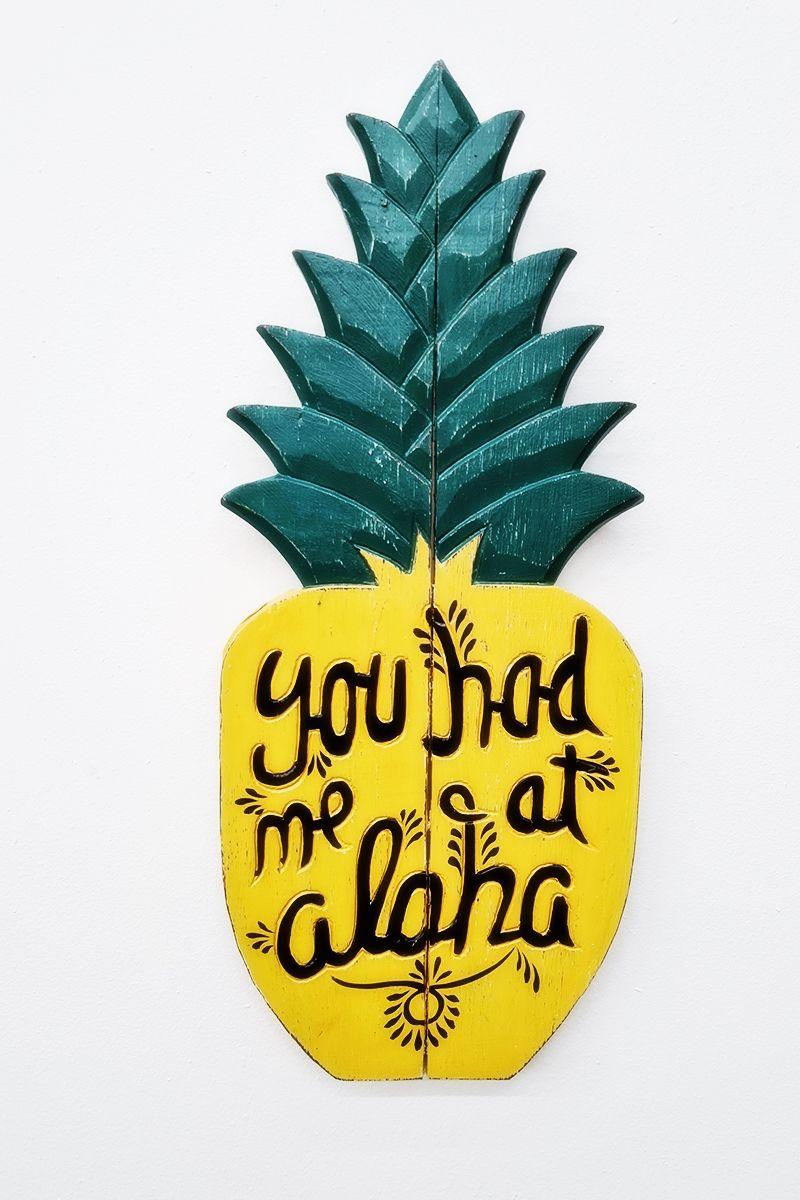 stylová-dekorace-na-zeď-ananás s nápisem.jpg