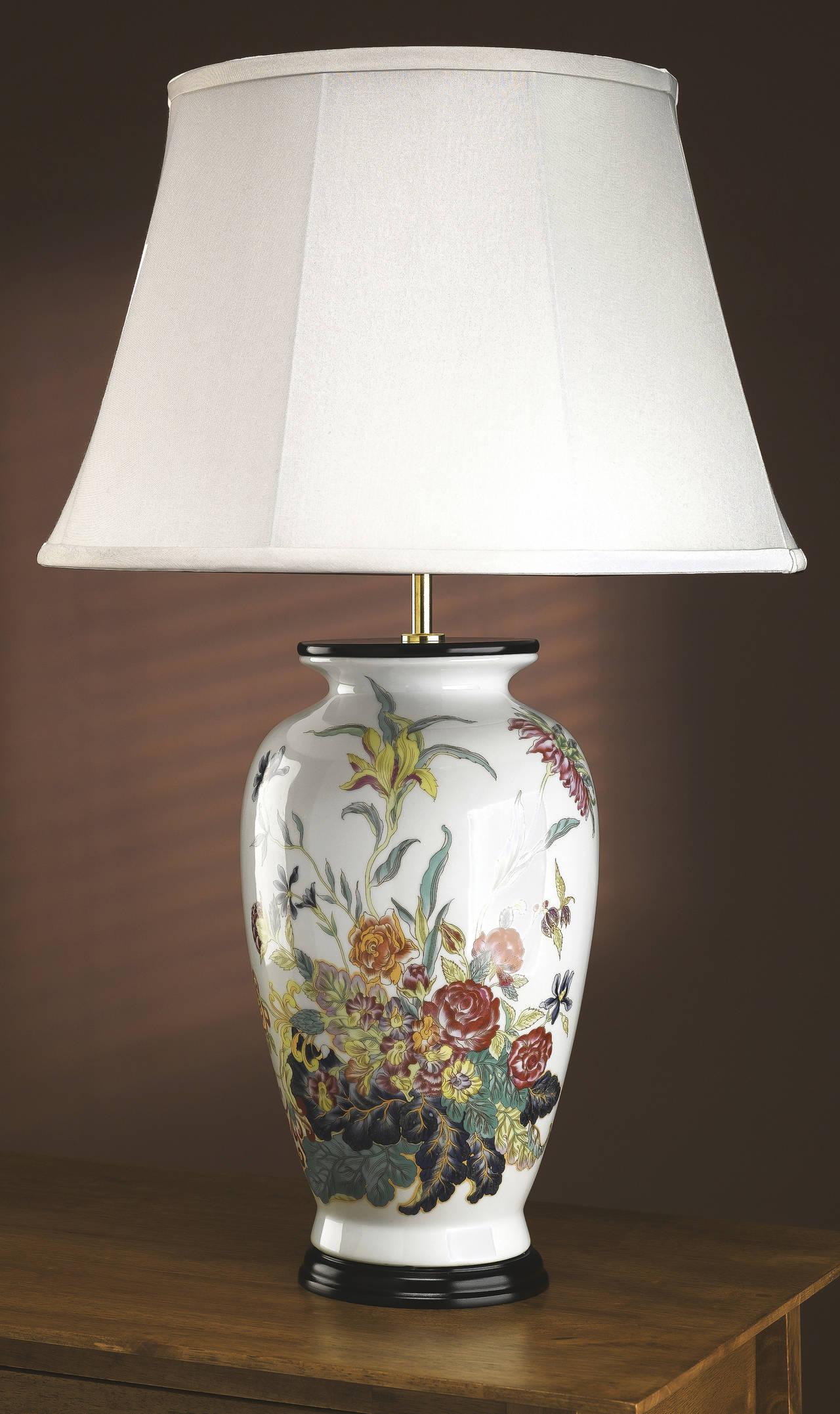 Stolní lampa rose