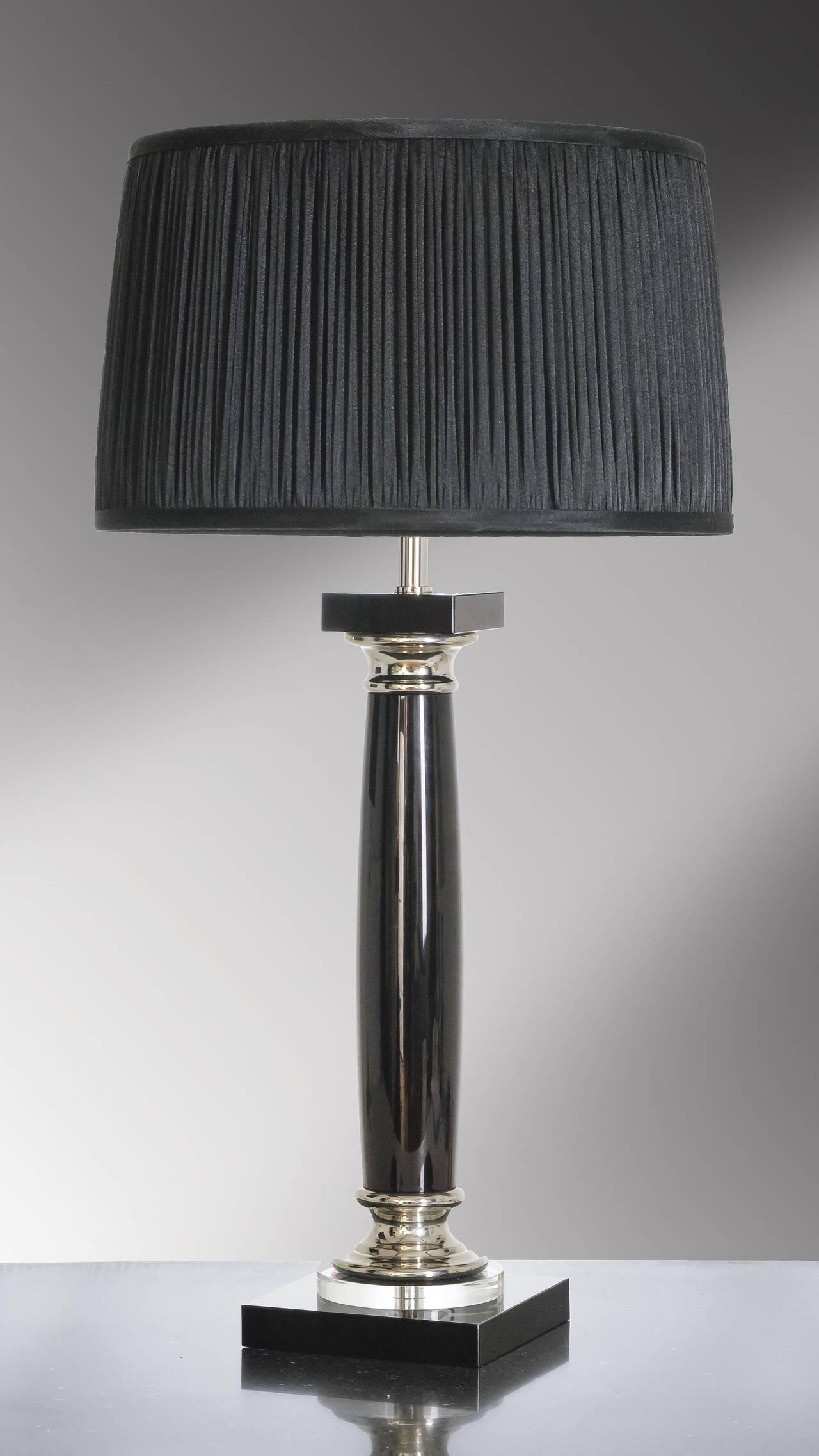 Stolní lampa simona nero