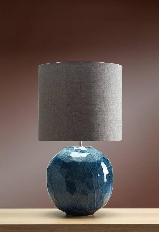 Stolní lampa blue globe