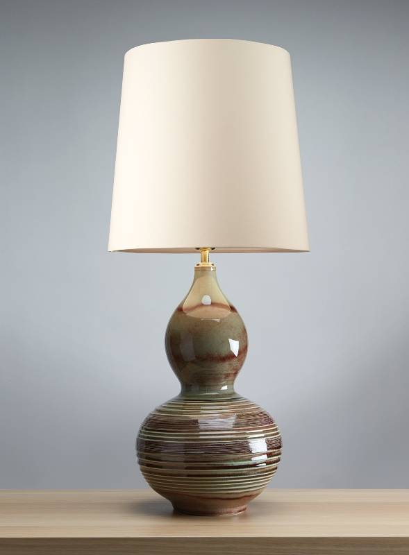 Stolní lampa jade gourd